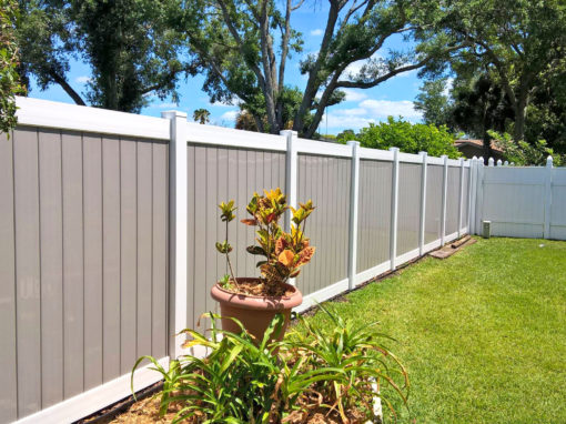 Vinyl Fence Installation Winter Springs