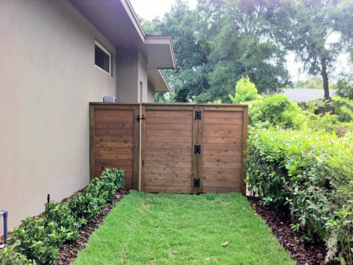 Wood Fence Installation Winter Springs