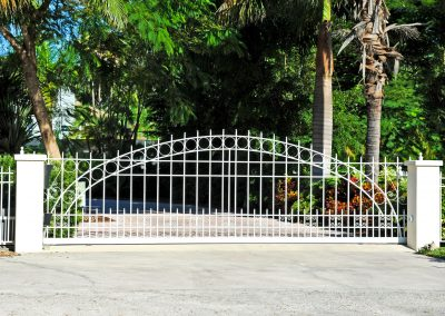 24062350 - sliding residential security gate system